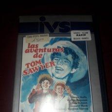 Cine: LAS AVENTURAS DE TOM SAWYER VHS. Lote 132253021