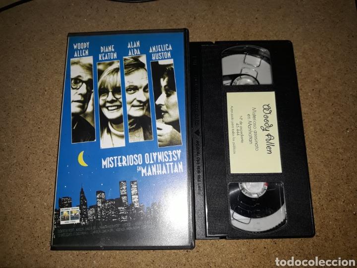 VHS- MISTERIOSO ASESINATO EN MANHATTAN- WOODY ALLEN DIANE KEATON ALAN ALDA (Cine - Películas - VHS)