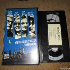Cine: VHS- MISTERIOSO ASESINATO EN MANHATTAN- WOODY ALLEN DIANE KEATON ALAN ALDA. Lote 132282822