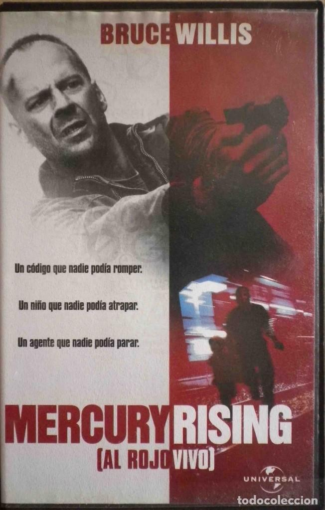 Todovhs Mercury Rising Al Rojo Vivo Bruce Wi Buy Vhs Movies At Todocoleccion 132348190