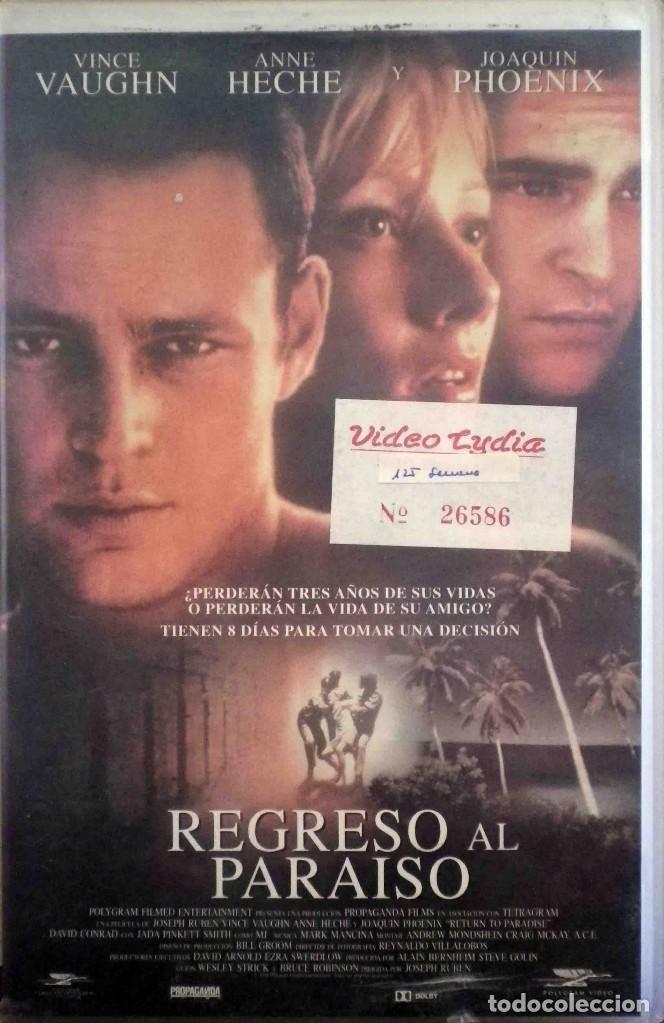 TODOVHS: REGRESO AL PARAÍSO. CAJA GRANDE (VINCE VAUGHN, ANNE HECHE, JOAQUIN PHOENIX, DAVID CONRAD) (Cine - Películas - VHS)