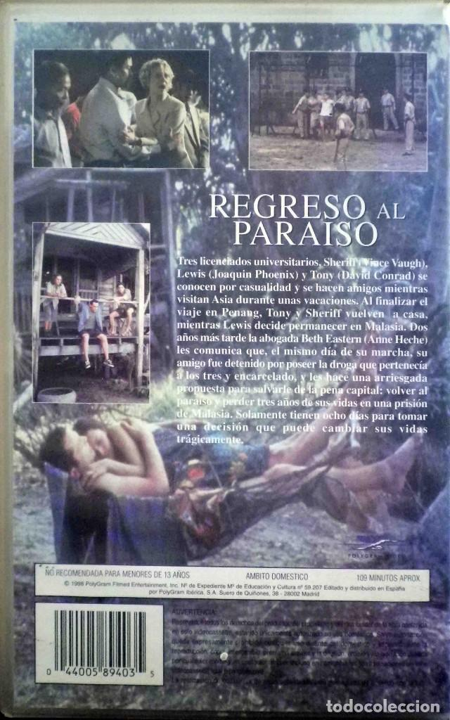 Cine: TODOVHS: Regreso al paraíso. Caja Grande (Vince Vaughn, Anne Heche, Joaquin Phoenix, David Conrad) - Foto 2 - 190872056