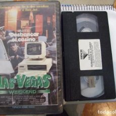 Cine: LAS VEGAS WEEKEND - DALE TREVILLON - BARRY HICKEY , JACE DAMUN - TOPACIO 1988. Lote 132643834