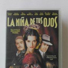 Cine: VHS LA NIÑA DE TUS OJOS PENELOPE CRUZ JORGE SANZ ANTONIO RESINES USADA. Lote 132670046