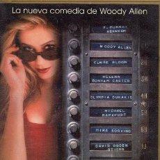 Cine: WOODY ALLEN. 5 PELICULAS VHS . Lote 132709614