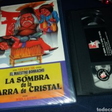 Cine: EL MAESTRO BORRACHO EN LA SOMBRA DE LA GARRA DE CRISTAL- VHS- ARTES MARCIALES. Lote 132828527