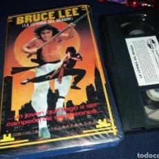 Cine: LA LEYENDA DE BRUCE LEE- VHS- BRUCE LEE - EDICION COLECCIONISTA- ARTES MARCIALES. Lote 132829479