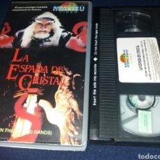 Cine: LA ESPADA DE CRISTAL- IN THE WRONG HANDS- VHS- ARTES MARCIALES- 1987 HKTVB INTERNATIONAL- VHS. Lote 132836966