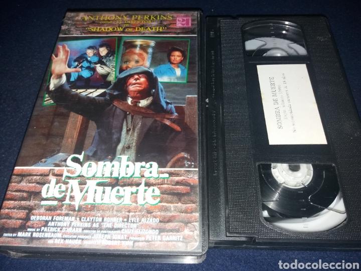 SOMBRA DE MUERTE- VHS- ANTHONY PERKINS- SHADOW OF DEATH- TERROR (Cine - Películas - VHS)