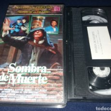 Cine: SOMBRA DE MUERTE- VHS- ANTHONY PERKINS- SHADOW OF DEATH- TERROR. Lote 132930821