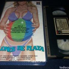 Cine: BALONES DE PLAYA- VHS- SEX COMEDY-. Lote 132951134