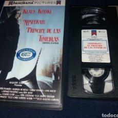 Cine: NOSFERATU PRINCIPE DE LAS TINIEBLAS- VHS- NOSFERATU EN VENECIA- VHS- KLAUS KINSKI 1988. Lote 133041629