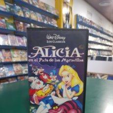 Cine: ALICIA EN EL PAÍS DE LAS MARAVILLAS VHS. Lote 133146841