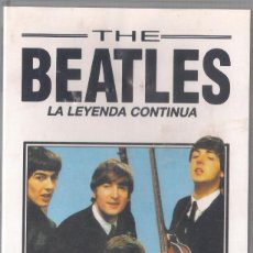 Cine: THE BEATLES. LA LEYENDA CONTINUA - DOCUMENTAL NO OFICIAL. 1993 VHS. Lote 133177110