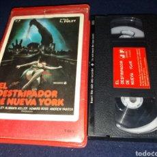 Cine: EL DESTRIPADOR DE NUEVA YORK- LO SQUARTATORE DI NEW YORK- VHS- 1982- LUCIO FULCI- 1 EDICION JOSE FRA. Lote 133236449