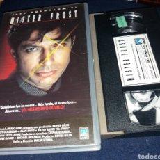 Cine: MISTER FROST- VHS- JEFF GOLDBLUM- 1 EDICION. Lote 133238363