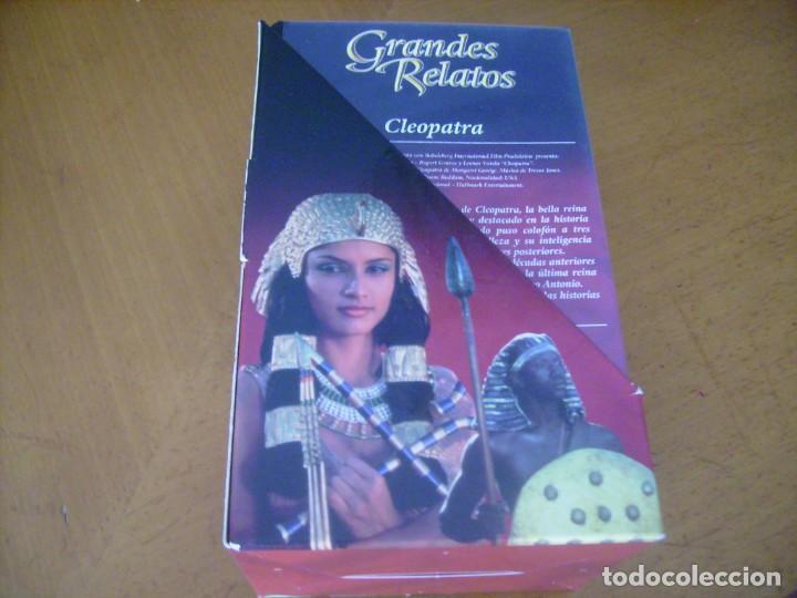 GRANDES RELATOS CLEOPATRA 3 VHS (Cine - Películas - VHS)