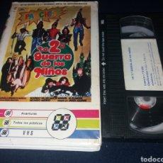 Cine: LA 2 GUERRA DE LOS NIÑOS- VHS- PARCHIS- 1 EDICION. Lote 133337333