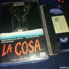 Cine: LA COSA- VHS- 1 EDICION- DIR: JOHN CARPENTER (2). Lote 133682177