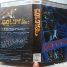 Cine: VHS - GOLDY EL CHULO / THE MACK - MICHAEL CAMPUS (1973). RICHARD PRYOR BLAXPLOITATION MAX JULIEN. Lote 133650454
