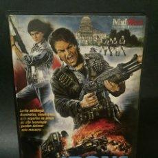 Cine: VHS VIDEO IRON ANGELS GRUPO ESPECIAL ANTIDROGAS TERESA WOO ACCIÓN ARTES MARCIALES CRIMEN. Lote 133670414