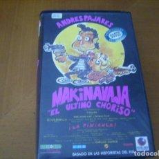 Cine: MAKINAVAJA EL ULTIMO CHORISO / VHS RARA BUEN ESTADO. Lote 133674486