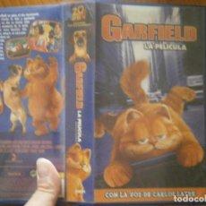 Cine: GARFIELD LA PELICULA VHS. Lote 133674678