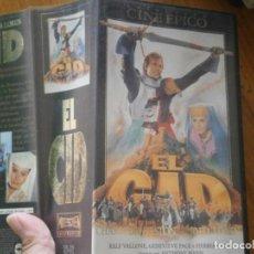 Cine: ¡¡EL CID VHS EDICCION ESPECIAL. Lote 133674962