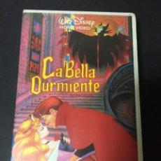 Cine: VHS LA BELLA DURMIENTE CLASICO WALT DISNEY HOME VIDEO FILMAYER CAJA GRANDE. Lote 133676166