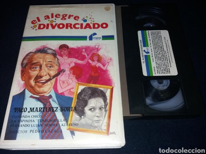 EL ALEGRE DIVORCIADO- VHS- PACO MARTINEZ SORIA- CAJA BLANCA (Cine - Películas - VHS)