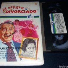Cine: EL ALEGRE DIVORCIADO- VHS- PACO MARTINEZ SORIA- CAJA BLANCA. Lote 133960227
