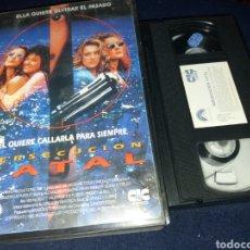 Cine: PERSECUCION FATAL- VHS- DIR: SANDOR STERN. Lote 133973607