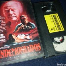 Cine: ENDEMONIADOS- VHS- 1988- GEORGE KENNEDY- TERROR SOBRENATURAL. Lote 133974729