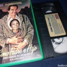 Cine: COMO PADRE E HIJO- VHS- JOHN CASSAVETES. Lote 133974838