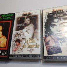 Cine: VHS ORIGINAL DE *SARA MONTIEL* LOTE 3. Lote 133986839