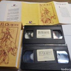 Cine: VHS ORIGINAL *EL QUIJOTE* EN BLISTER Y CON CATALOGO. Lote 133986962