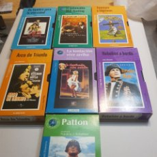 Cine: VHS ORIGINAL LOTE 7 PELÍCULAS HISTÓRICAS DEL CINE. Lote 134096667