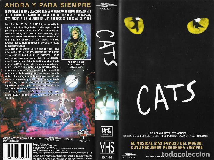 Cats. el musical mas famoso del mundo , regalo , Sold