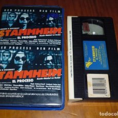 Cine: STAMMHEIM . EL PROCESO - VHS. Lote 134151326