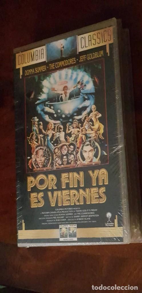 POR FIN YA ES VIERNES - ROBERT KLANE - DONNA SUMMER , JEFF GOLDBLUM - COLUMBIA 1992 PRECINTADA (Cine - Películas - VHS)