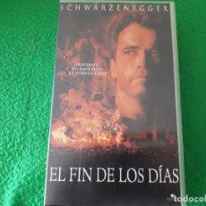 Cine: VHS EL FIN DE LOS DIAS. Lote 134202454