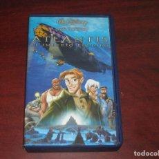Cine: VHS -ATLANTIS EL IMPERIO PERDIDO - DISNEY - VIDEO. Lote 134211466