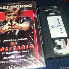 Cine: EL SOLITARIO- VHS- JEAN PAUL BELMONDO. Lote 140033429