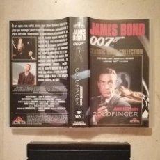 Cine: ANTIGUO VHS ORIGINAL - GOLDFINGER - JAMES BOND - MGM - 007 - SEAN CONNERY. Lote 134247750