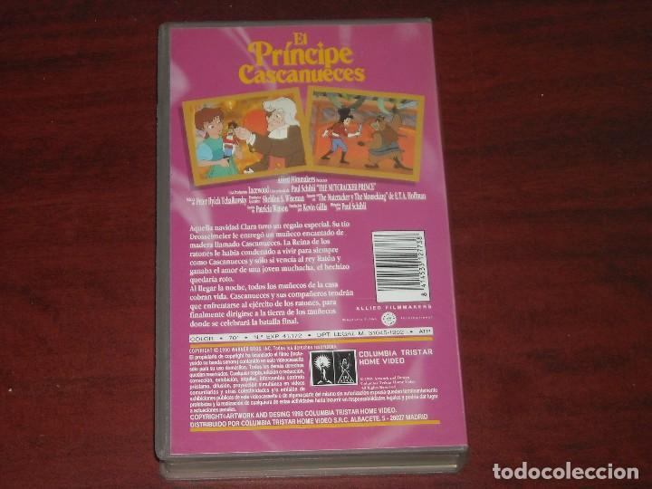 Cine: VHS - EL PRINCIPE CASCANUECES - VIDEO - Foto 2 - 134287366