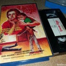 Cine: LLUVIA ROJA- VHS- JORGE NEGRETE. Lote 134430599