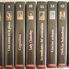 Cine: LOTE # 8 CINTAS VHS (INTERVIU). Lote 134502646