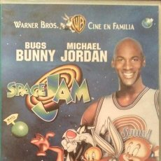 Cine: MICHAEL JORDAN - PELÍCULA ''SPACE JAM'' (1996) - VHS. Lote 134719078