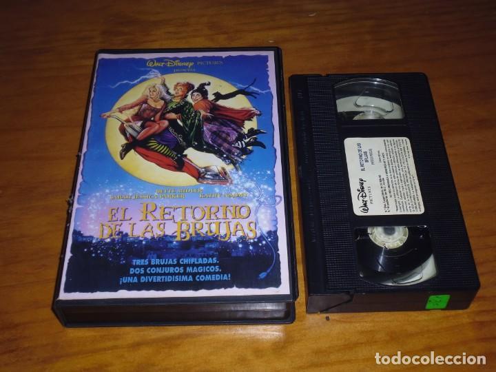 EL RETORNO DE LAS BRUJAS - VHS - TERROR FANTASIA (Cine - Películas - VHS)