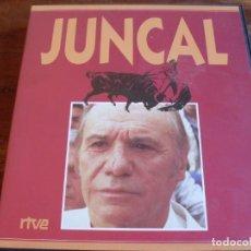 Cine: JUNCAL - PACO RABAL, LOLA FLORES - SERIE COMPLETA EDICION RTVE EN 2 VIDEOS - SERVA FILMS 1989. Lote 134823094